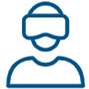 Icon > PLM Collaboration Services > Immersive Virtual Reality > Dassault Systèmes®